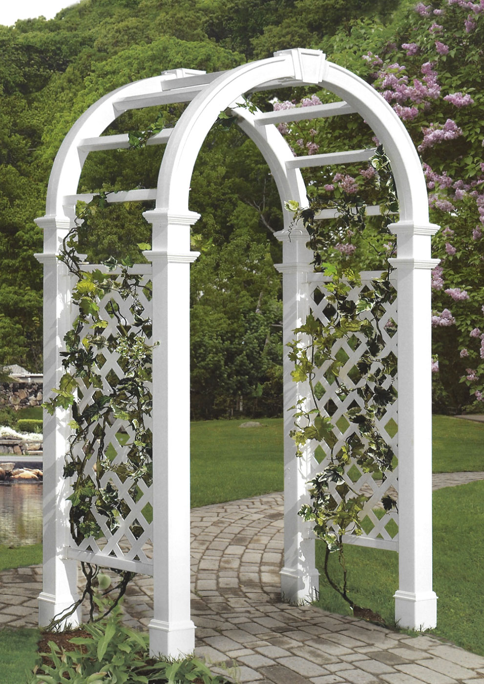 Arbors further Customized Moulding In New Home Traditional Fireplaces additionally Vintage Metal Porch Glider as well Metal Planter With Trellis Contemporary Outdoor Planters Other Metro in addition Sunroom Window Treatments. on sunroom furniture