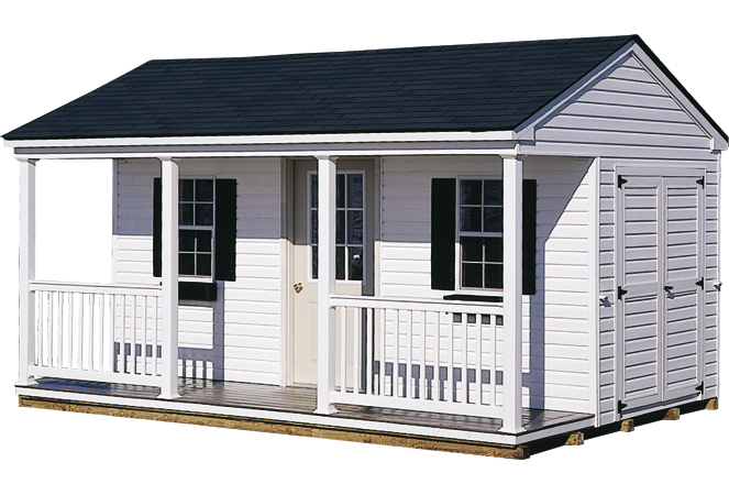 Gera gardens pool houses vinyl porch pool house for Pool shed plans free