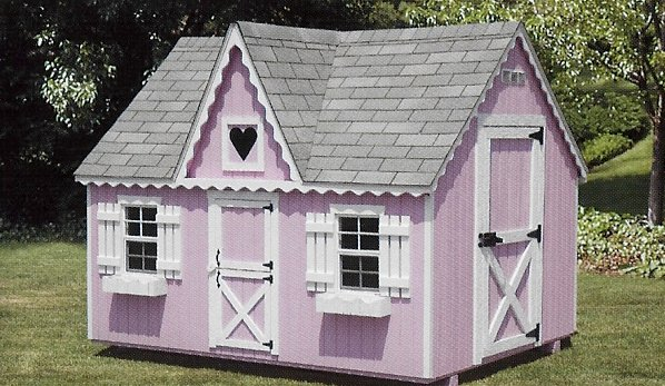Charmant Victorian Playhouse. The ...